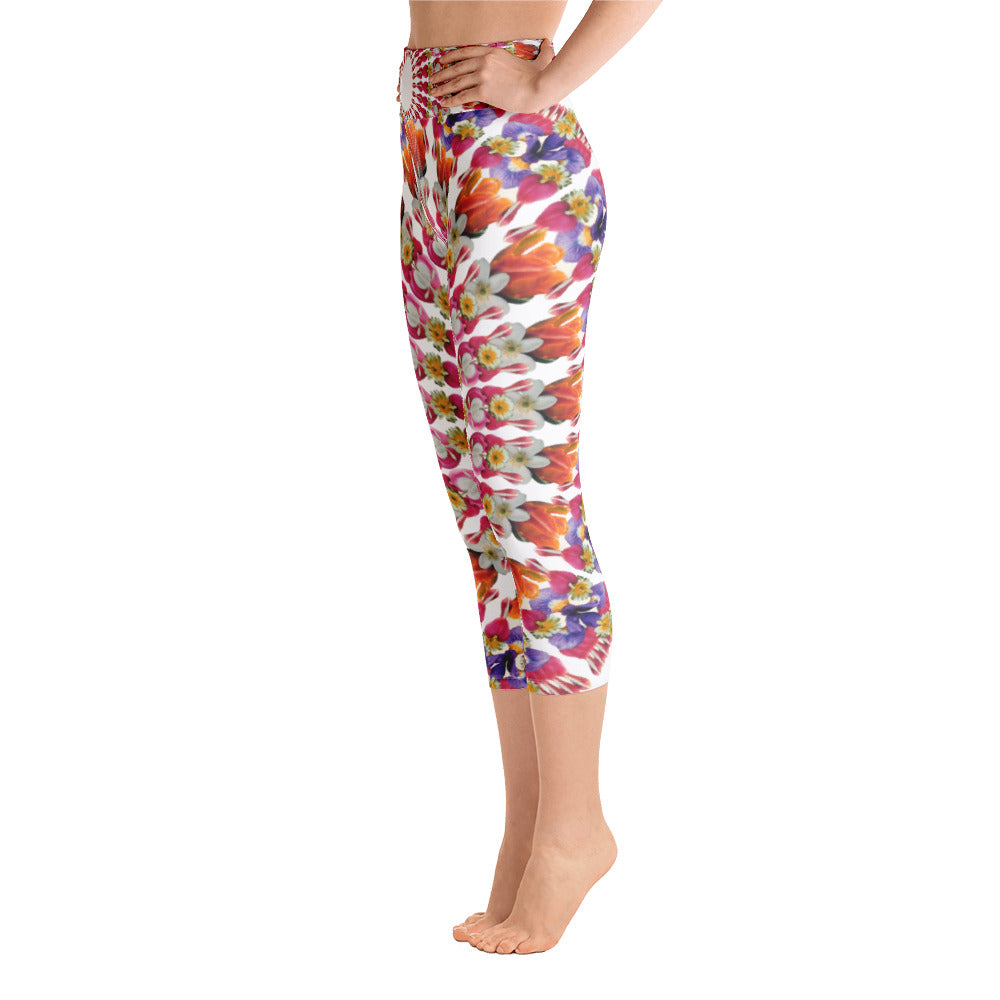 I Am Love Yoga Capri Leggings