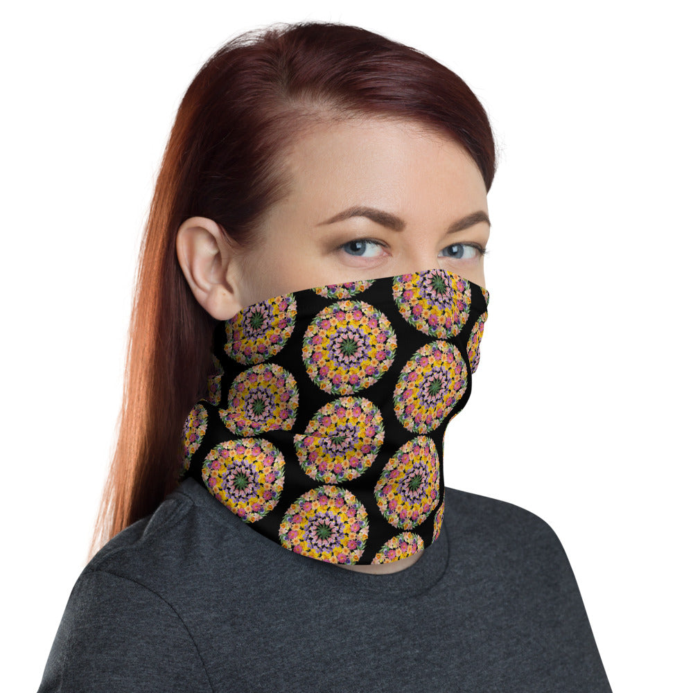 I Am Confident Face Shield Black