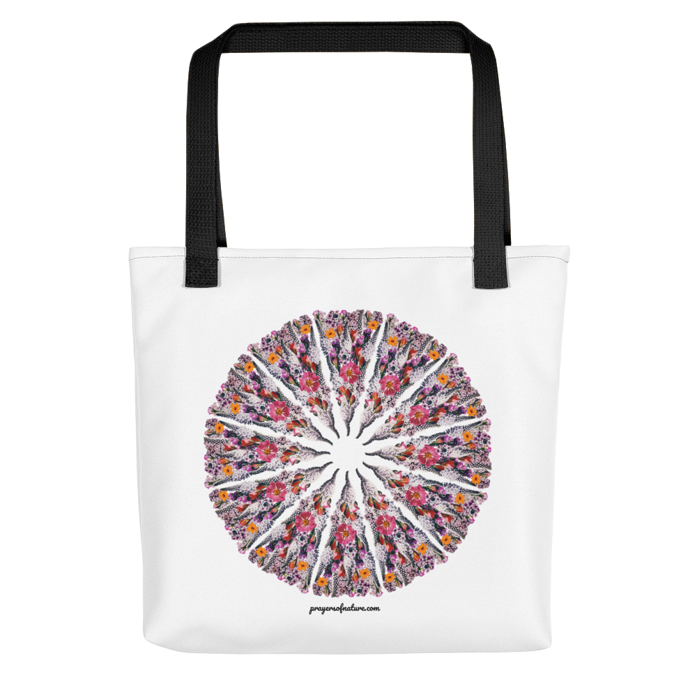 Flower Mandala I Am Limitless Potential Tote Bag