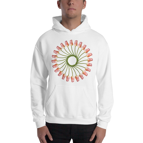 Flower Mandala I Am Finding Opportunity Hooded Sweatshirt