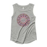 Flower Mandala I Am Limitless Potential Capped Sleeve Shirt