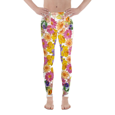 Flower Mandala I Am Confident Men's Leggings