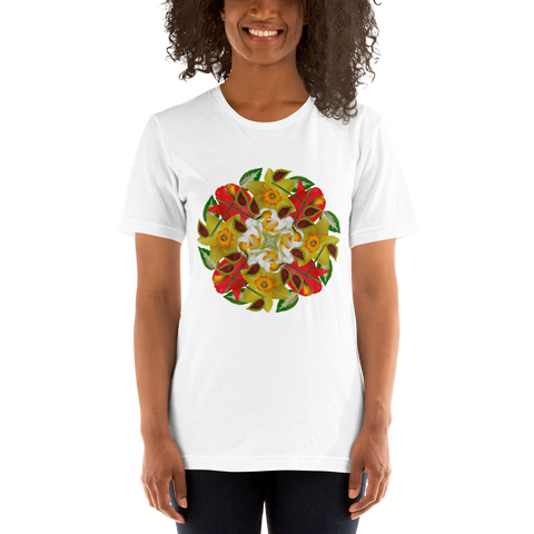 Flower Mandala I Am Complete Short-Sleeve Unisex T-Shirt