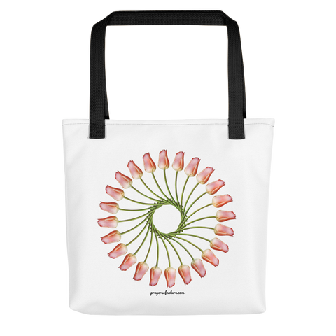 Flower Mandala I Am Finding Opportunity Tote Bag