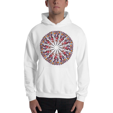 Flower Mandala I Am Limitless Potential Hooded Sweatshirt