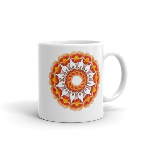 Flower Mandala I Am Bold Mug