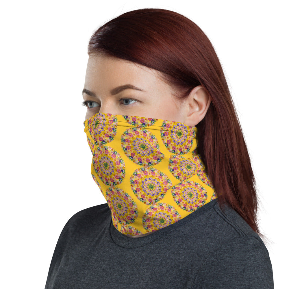 I Am Confident Face Shield Yellow