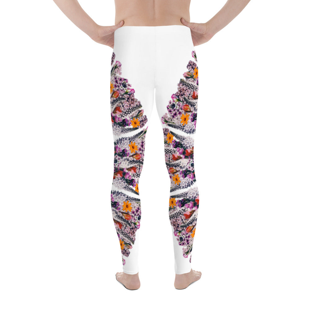 I Am Limitless Potential men's yoga leggings White