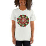 Flower Mandala I Am Not Who I Was Short-Sleeve Unisex T-Shirt