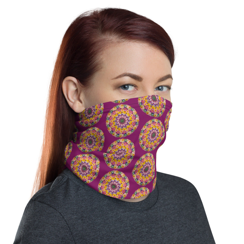 I Am Confident Face Shield Purple