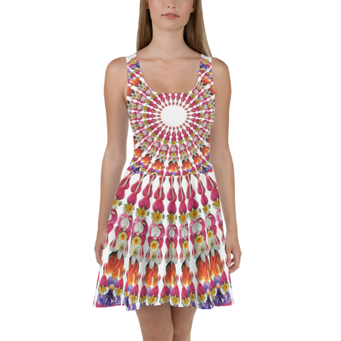 I Am Love Mandala Skater Dress