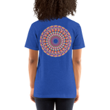 Flower Mandala I Am Love Unisex T-Shirt