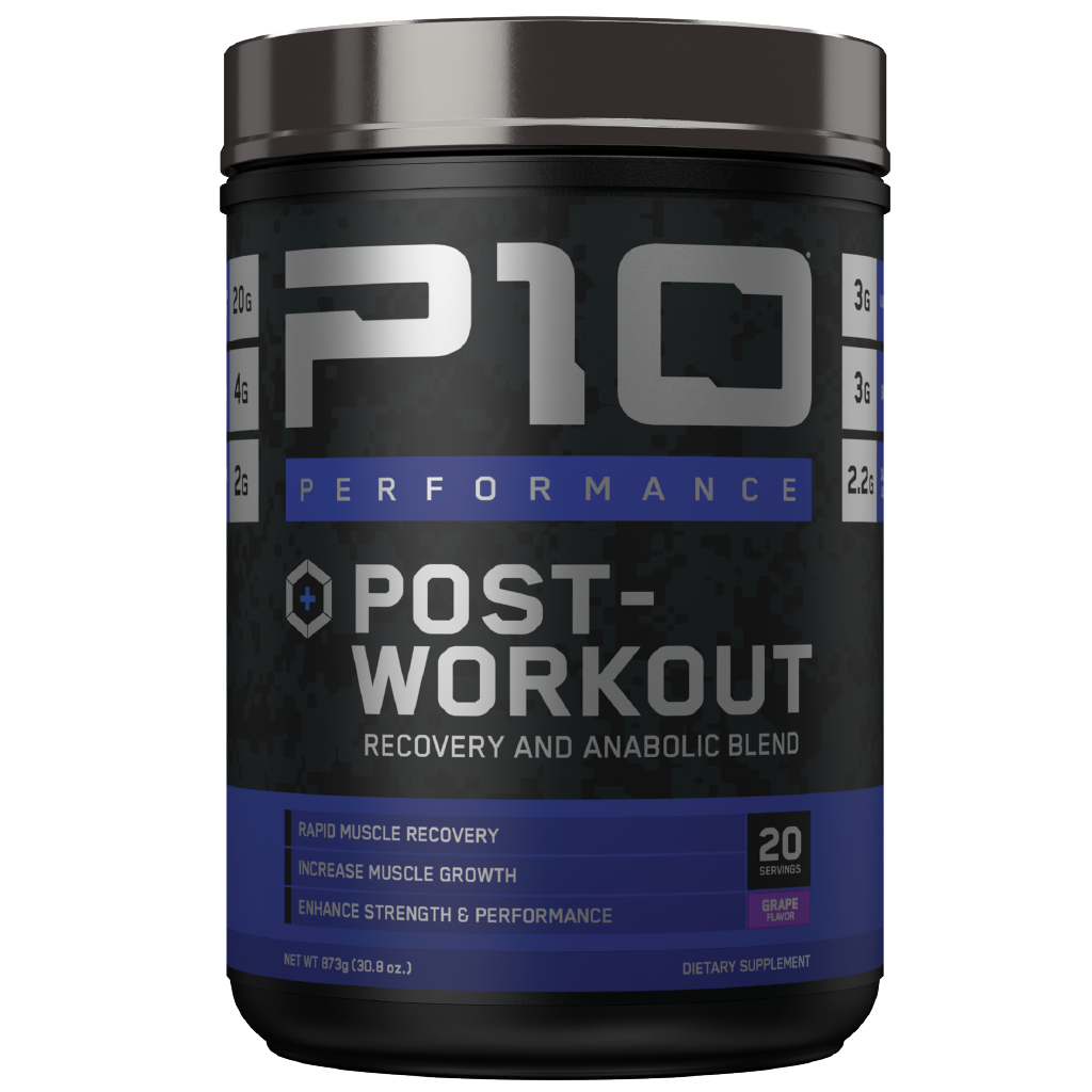 P10  Post-Workout 20-Serving Jar