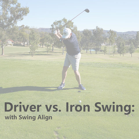 The Difference Between a Driver Swing and an Iron Swing