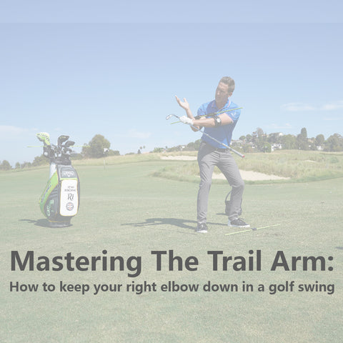 How to Keep Your Right Elbow Down in a Golf Swing