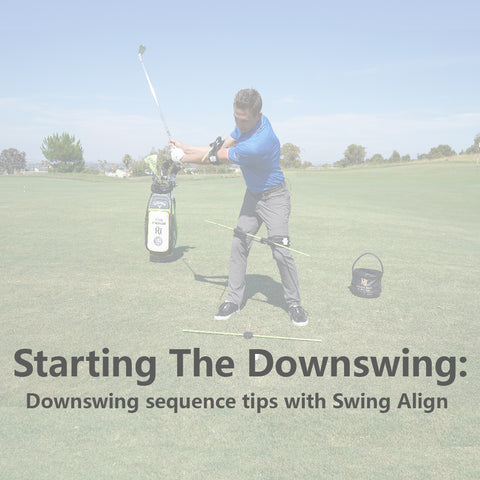 Starting the Downswing in Golf