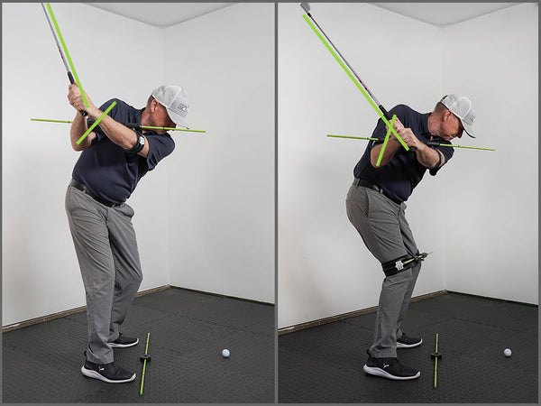 Right Elbow In Downswing
