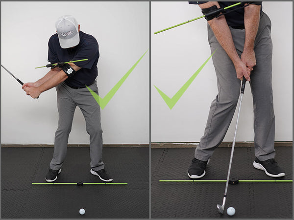 Right Elbow Golf Downswing