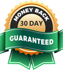 money back 30 day guaranteed