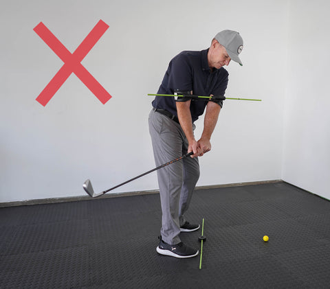 Golf Swing Takeaway Club Inside Leads To Hook
