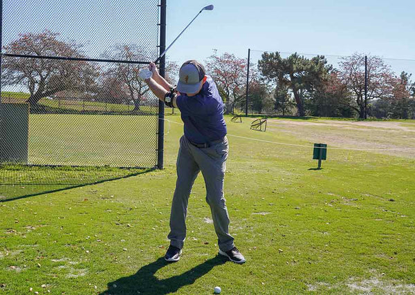 Top of the golf swing