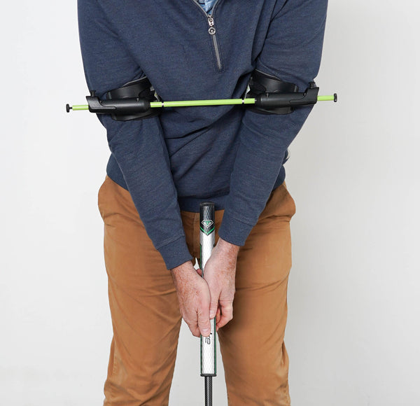 Golf Putting Arm Position