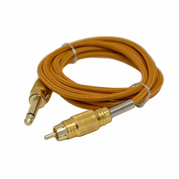GOLD'S MIGHTY BRAIDED 6′ RCA CORD