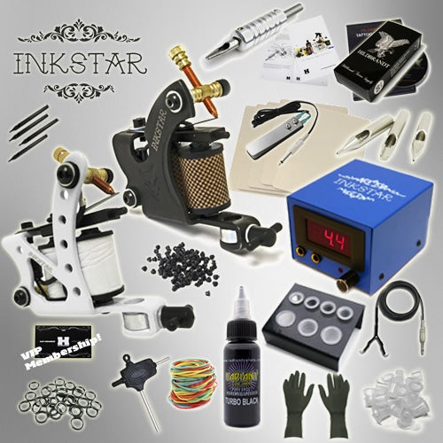 Tattoo Kit: Journeyman C & Black Inks