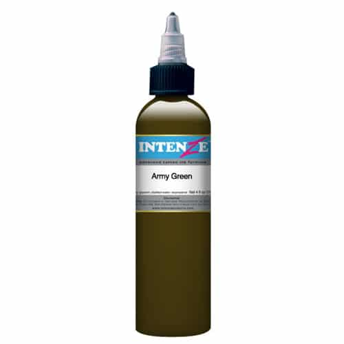 Intenze Tattoo Ink, Army Green
