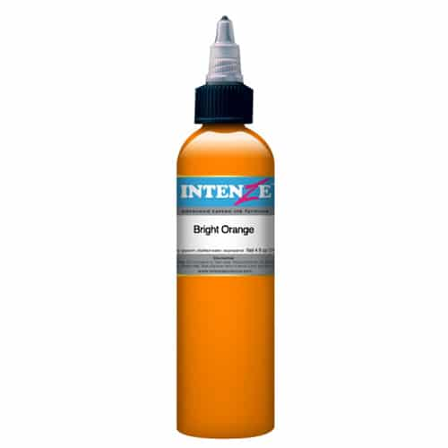 Intenze Tattoo Ink, Bright Orange