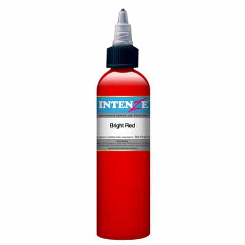 Intenze Tattoo Ink, Bright Red