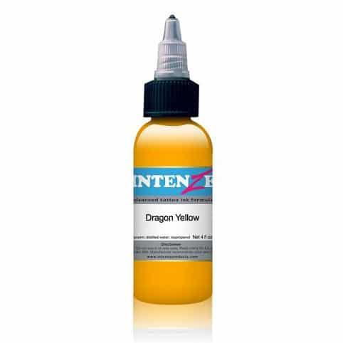 Intenze Tattoo Ink, Dragon Yellow