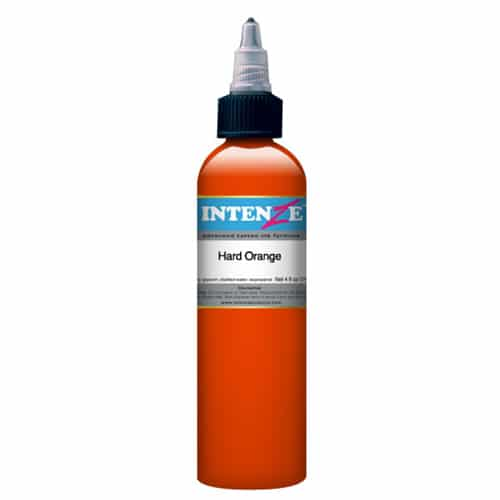 Intenze Tattoo Ink, Hard Orange