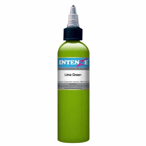 Intenze Tattoo Ink, Lime Green
