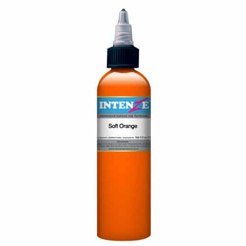 Intenze Tattoo Ink, Soft Orange
