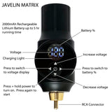 JAVELIN WIRELESS FREEDOM PORTABLE TATTOO KIT Black Ink