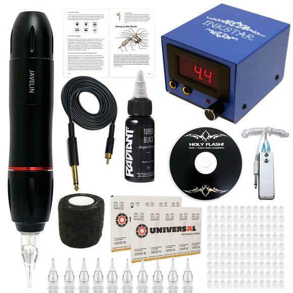 JAVELIN JOURNEYMAN TATTOO KIT – BLK INK