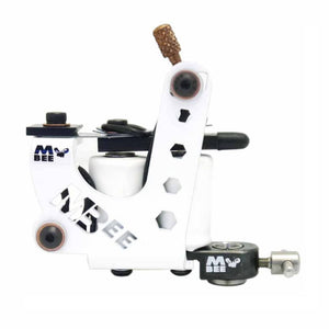 MICKY BEE TATTOO MACHINE, WHITE STING, LINER
