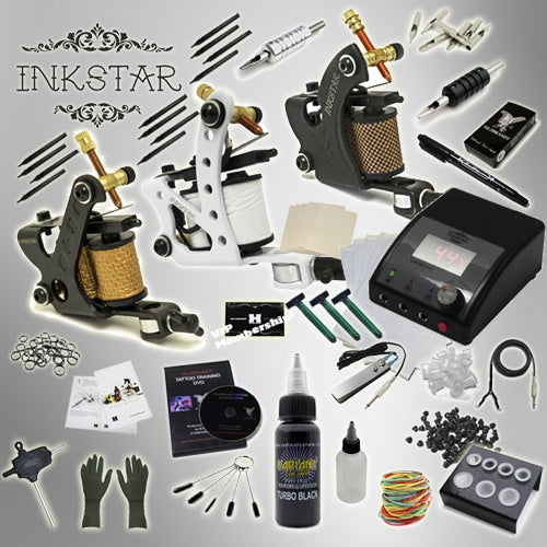 Tattoo Kit: Apprentice C & Black Inks