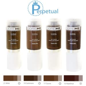 Doreme Pigment Concentrate Medium Brown Set