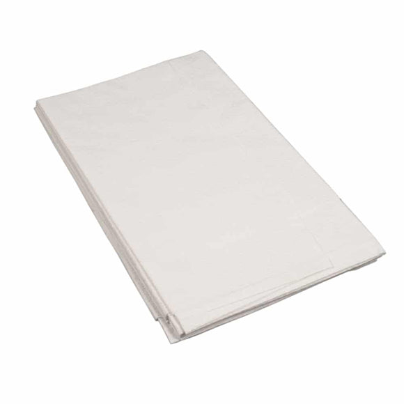 Graham White Drape Sheets x100 – 2ply – 40×60″