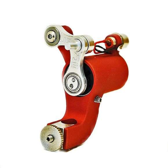 JACK STEEL MK3 ROTARY TATTOO MACHINE RED