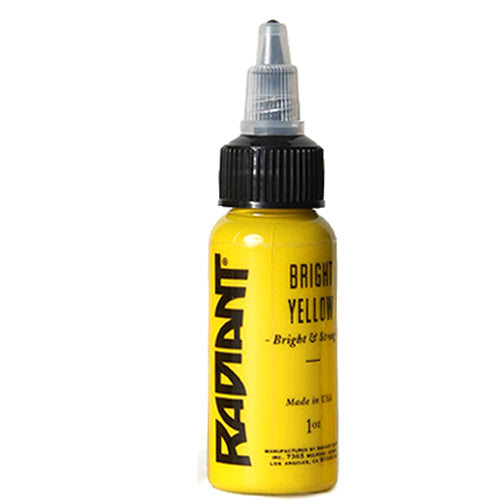 Tattoo Ink: Radiant Colors Bright Yellow