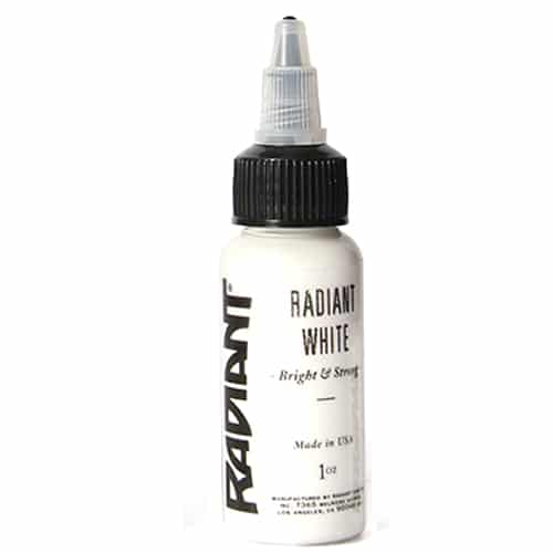 Radiant Colors Tattooing Ink: Radiant White
