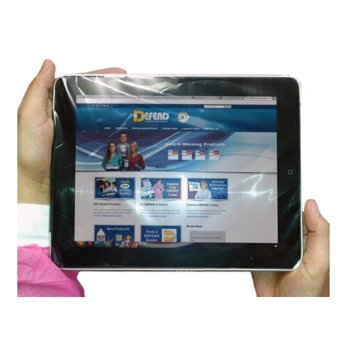 Defend Tattoo Tablet Barrier Sleeves