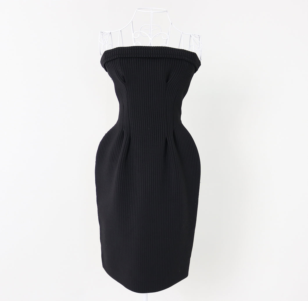 Yves Saint Laurent Bandau Mini dress