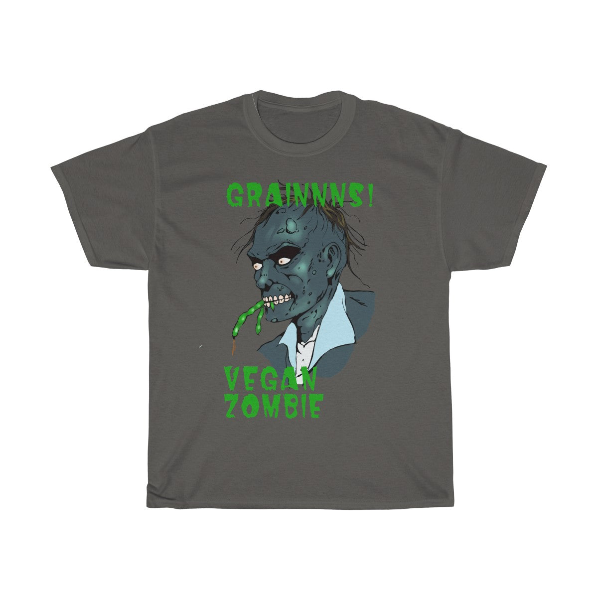 Grains, Vegan Zombie - Unisex T-Shirt - My Vegan Menu