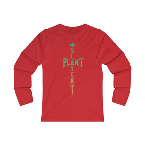 Plant Slayer - Long Sleeve T-Shirt - My Vegan Menu