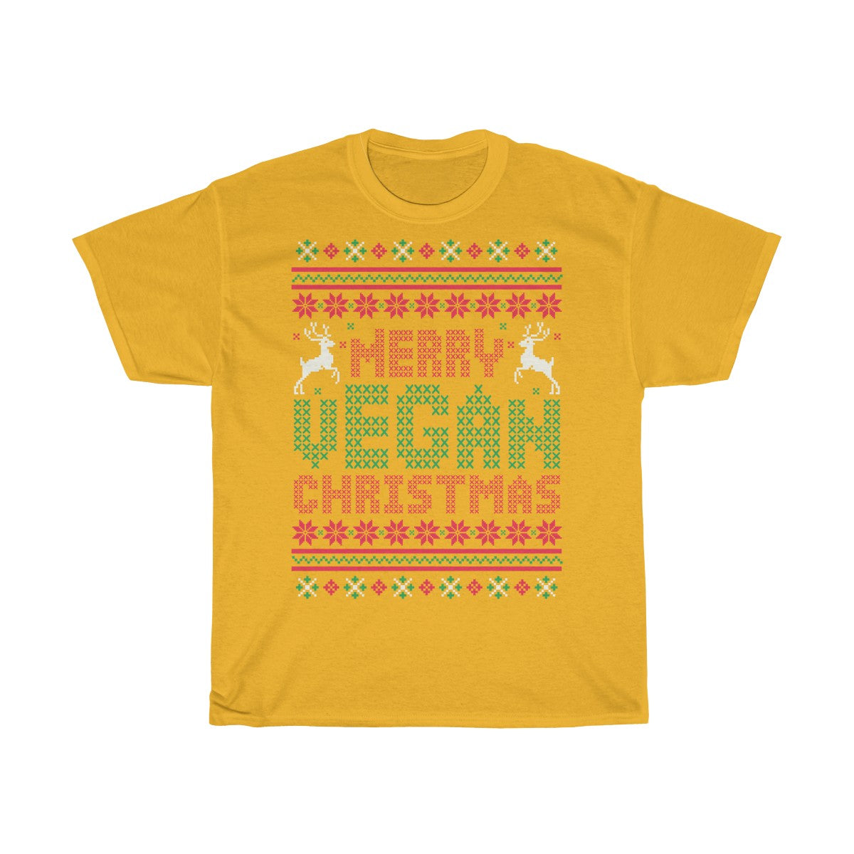 Merry Vegan Christmas - Unisex T-Shirt - My Vegan Menu