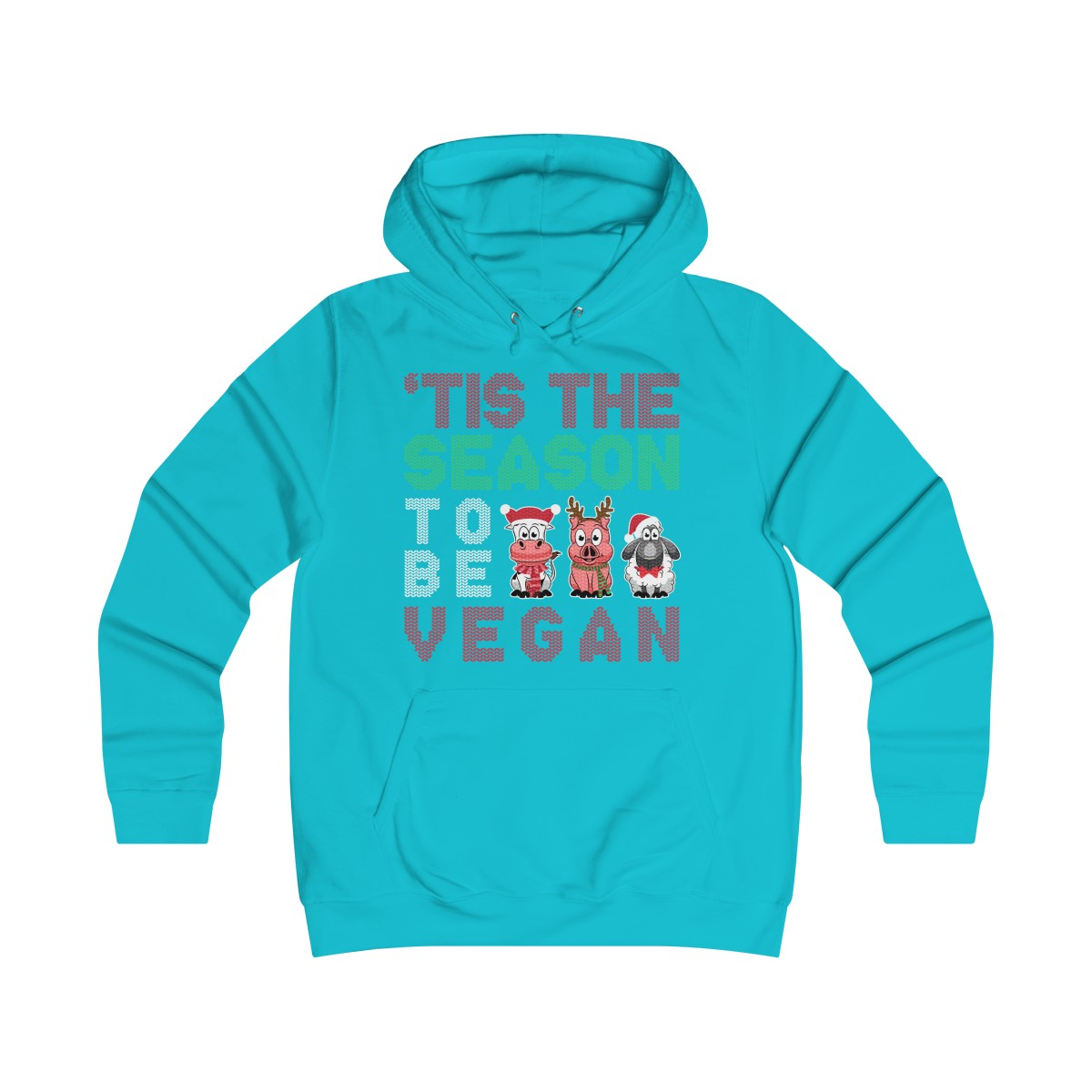 'Tis The Season To Be Vegan - Hoodie - My Vegan Menu